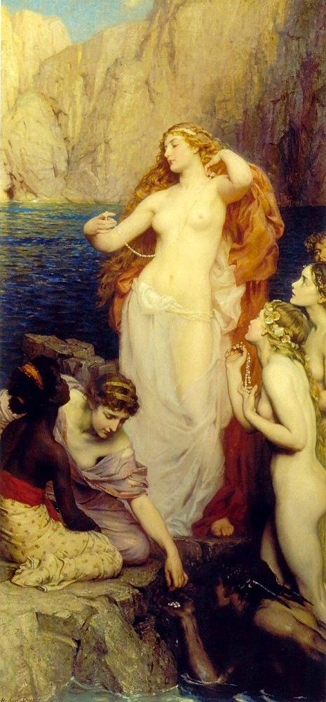 AphroditePearlsDraper