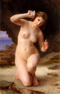 William-Bouguereau-xx-Femme-au-Coquillage-(Woman-with-Seashell)-xx-Public-collection