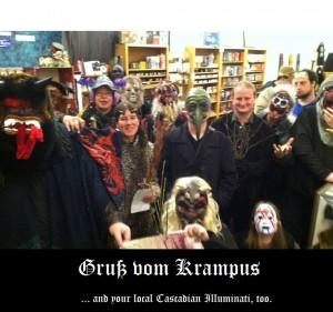 Seattle Krampuslauf Cascadian Illuminati 12 2013