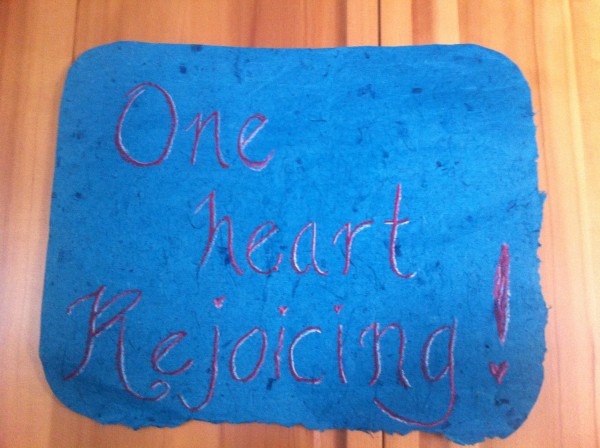Grounded Stardust4One Heart Rejoicing