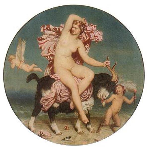 goat cupid faun Aphrodite